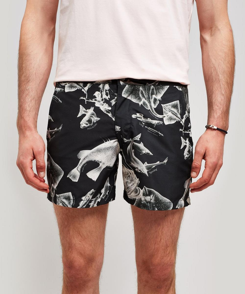 Buckler Endangered Fish Swim Shorts