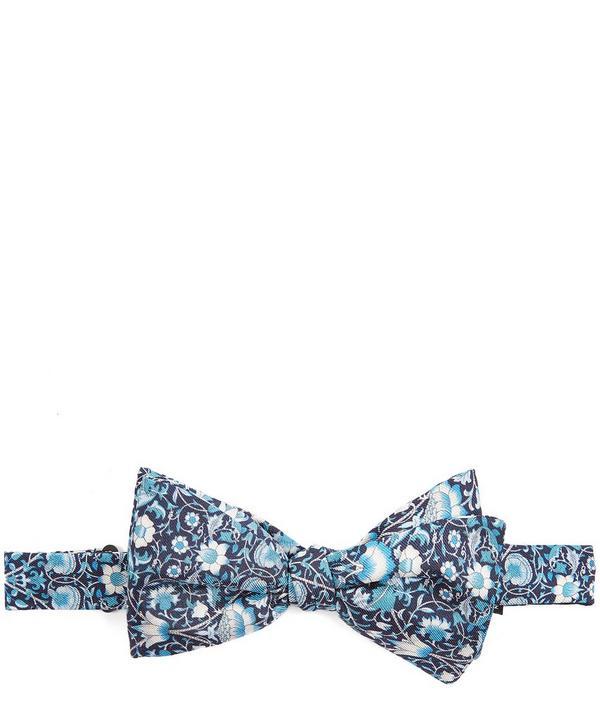 Lodden Print Self-Tie Silk Bow Tie