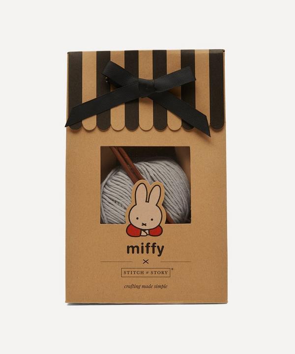 Stitch and Story - Miffy Baby Hat Knitting Kit