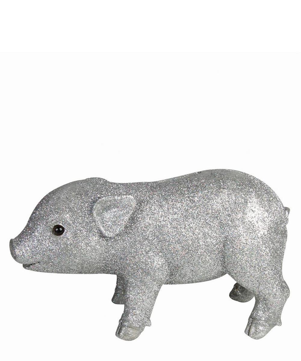 Glitter Pig Coin Bank