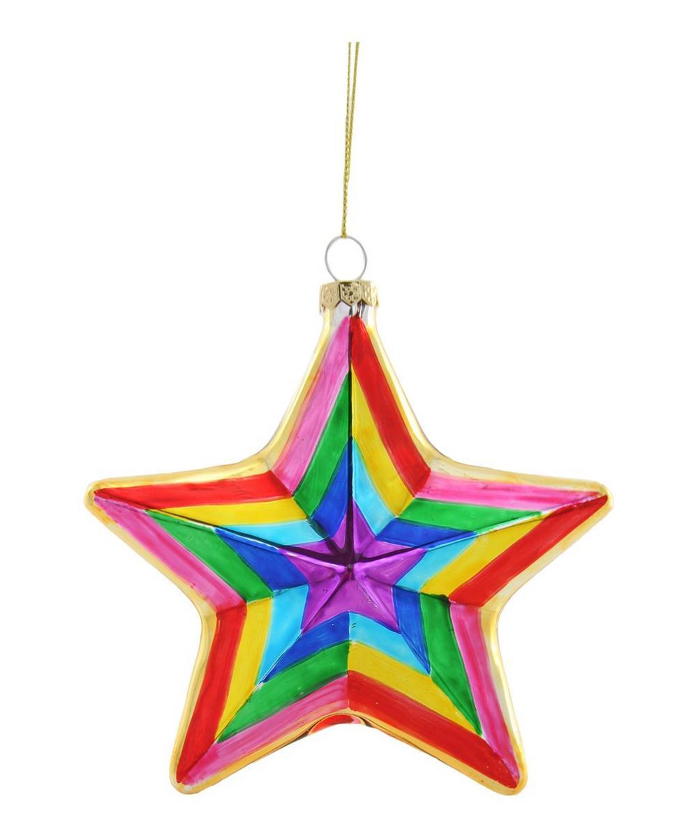Multicoloured Star Ornament