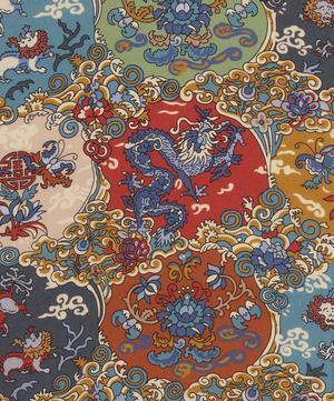 Dog and Dragon Crepe de Chine