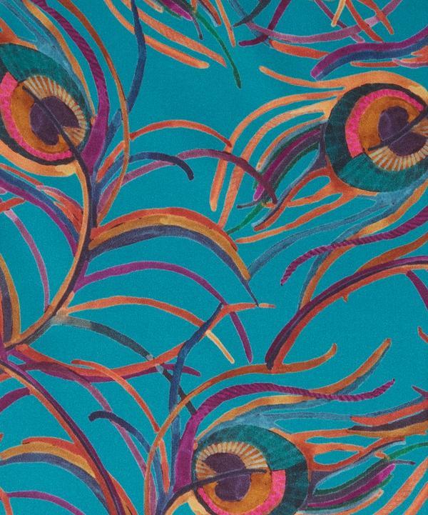 Isadora Feather Silk Satin