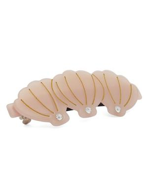 Claudia Crystal Shell Hair Clip