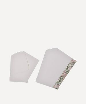 Michaelmas Daisy Paper Writing Set of 10