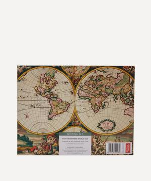 World Map Paper Writing Set of 10