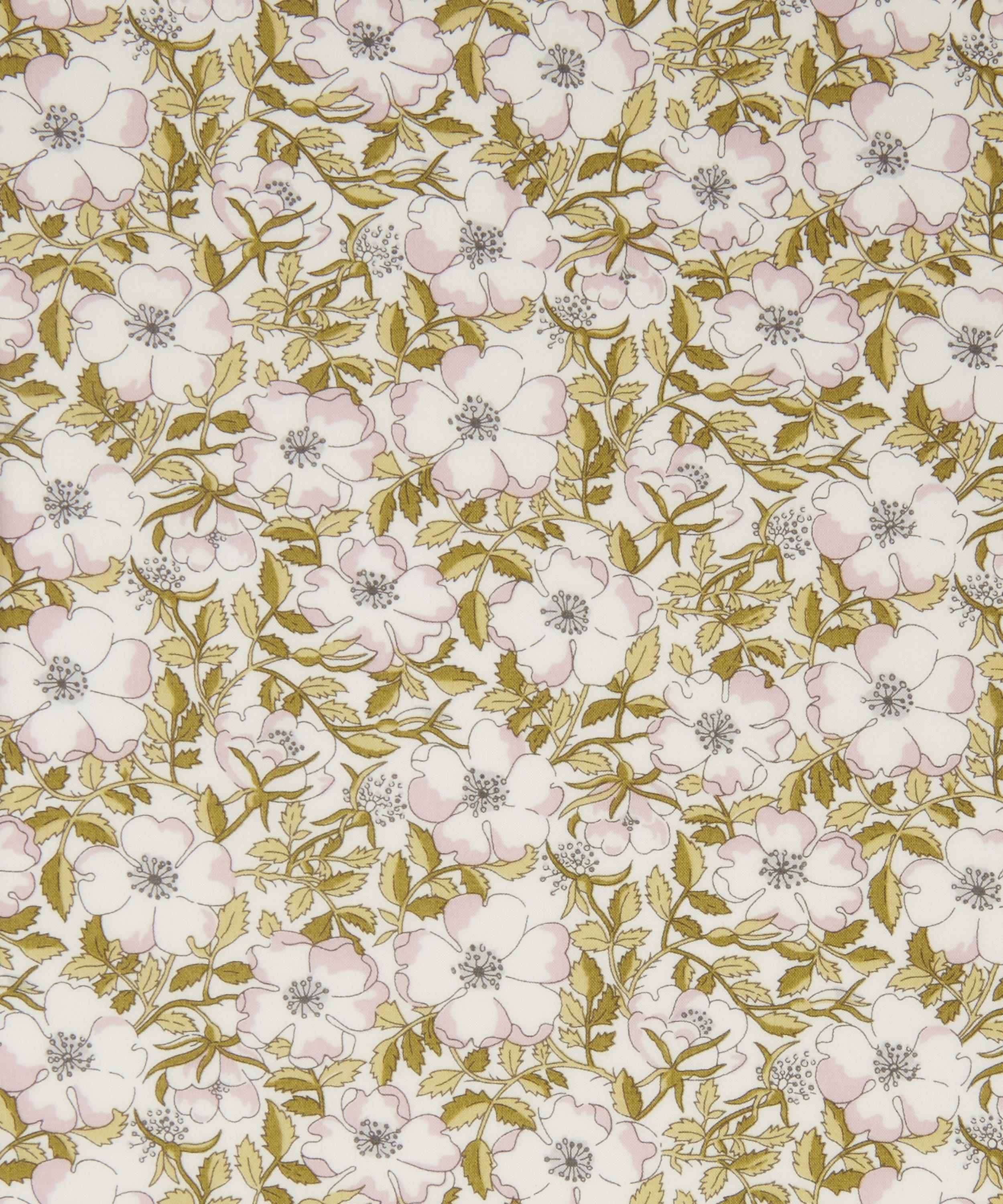 F899-2 Small Floral English Teatime Floral Print Fabric for Dolls House Project