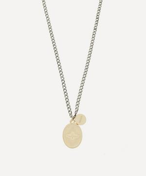 Gold-Plated Dove Pendant Necklace