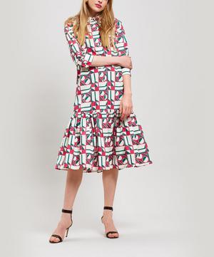 Getting My Croissant Geometrico Cotton Dress