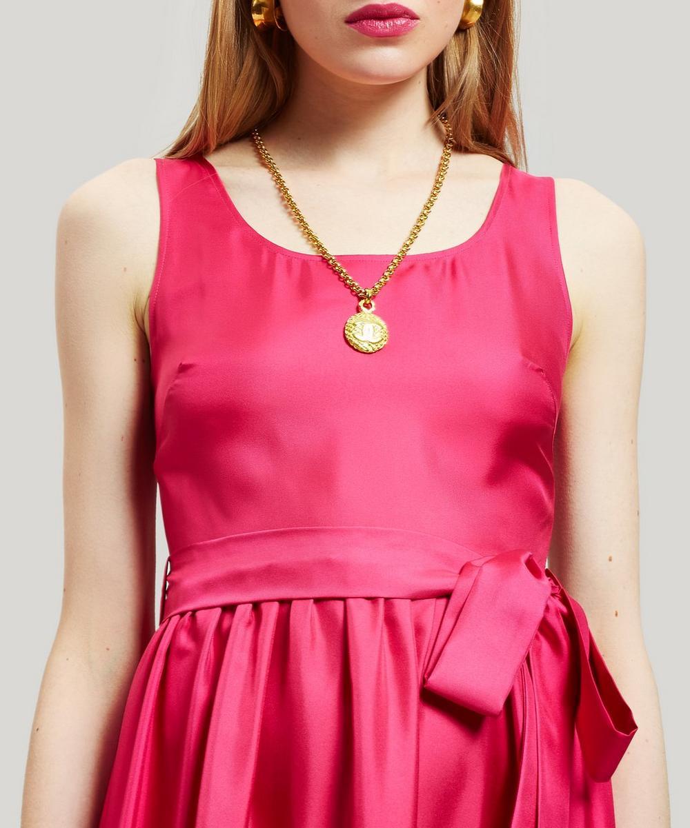 Pellicano Americano Silk Maxi Dress