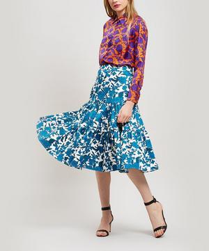 Après-Midi Cotton Tiered Skirt