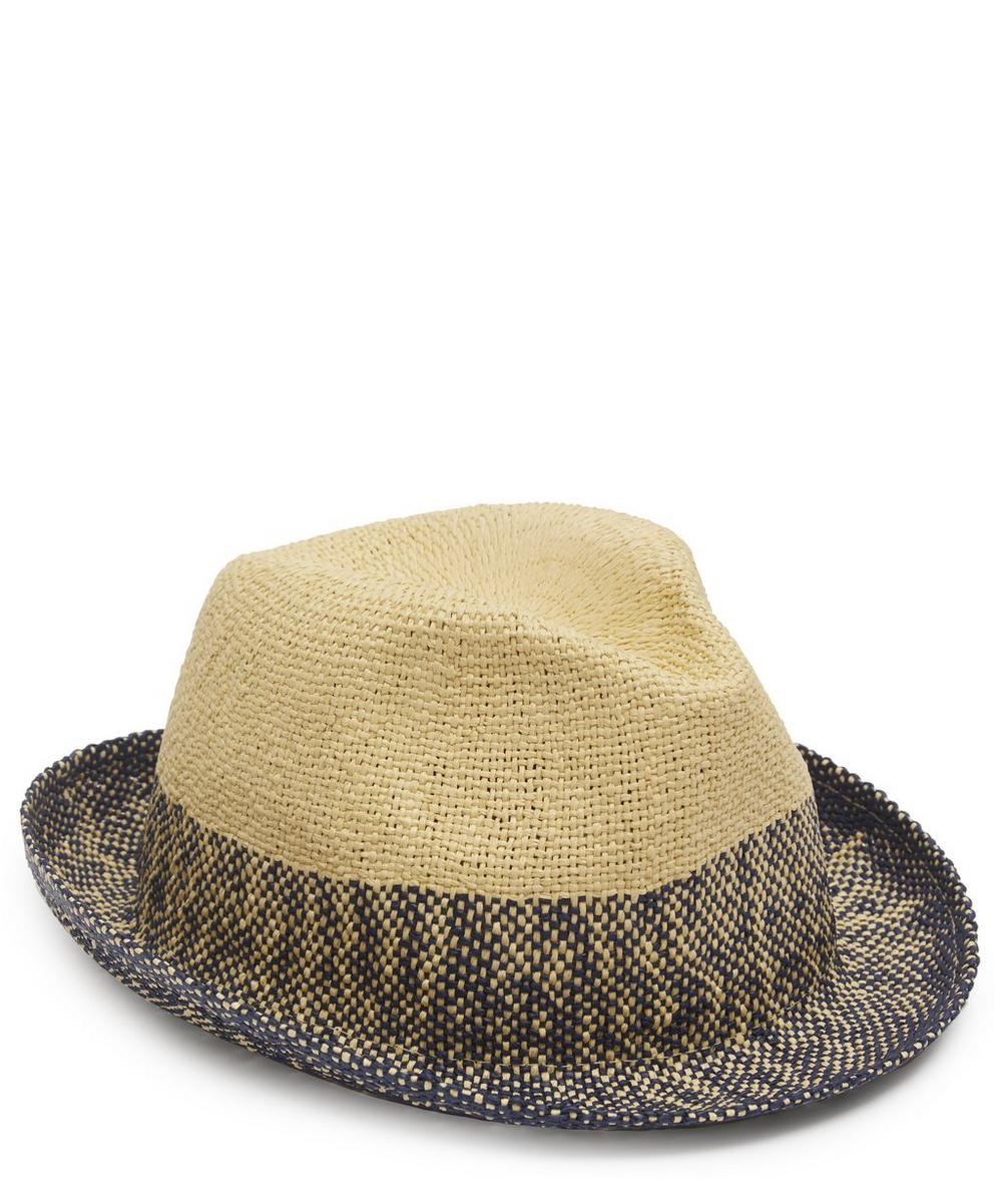 Paul Smith Hats CONTRAST STRAW HAT