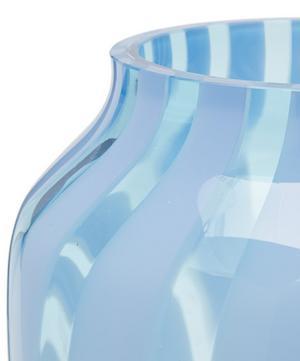 Wide Juice Striped Vase