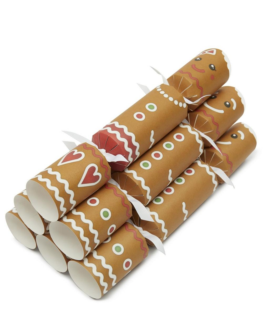 Christmas Crackers Contents.Gingerbread Christmas Crackers Set Of Six Liberty London