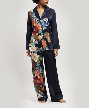 Sakura Silk Charmeuse Pyjama Set