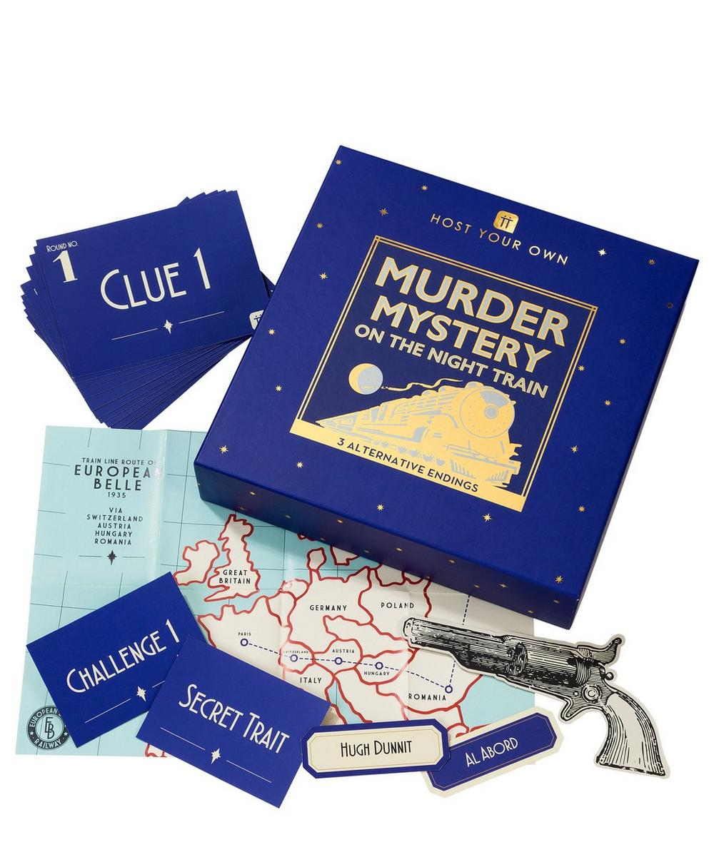Host Your Own Murder Mystery Night Game