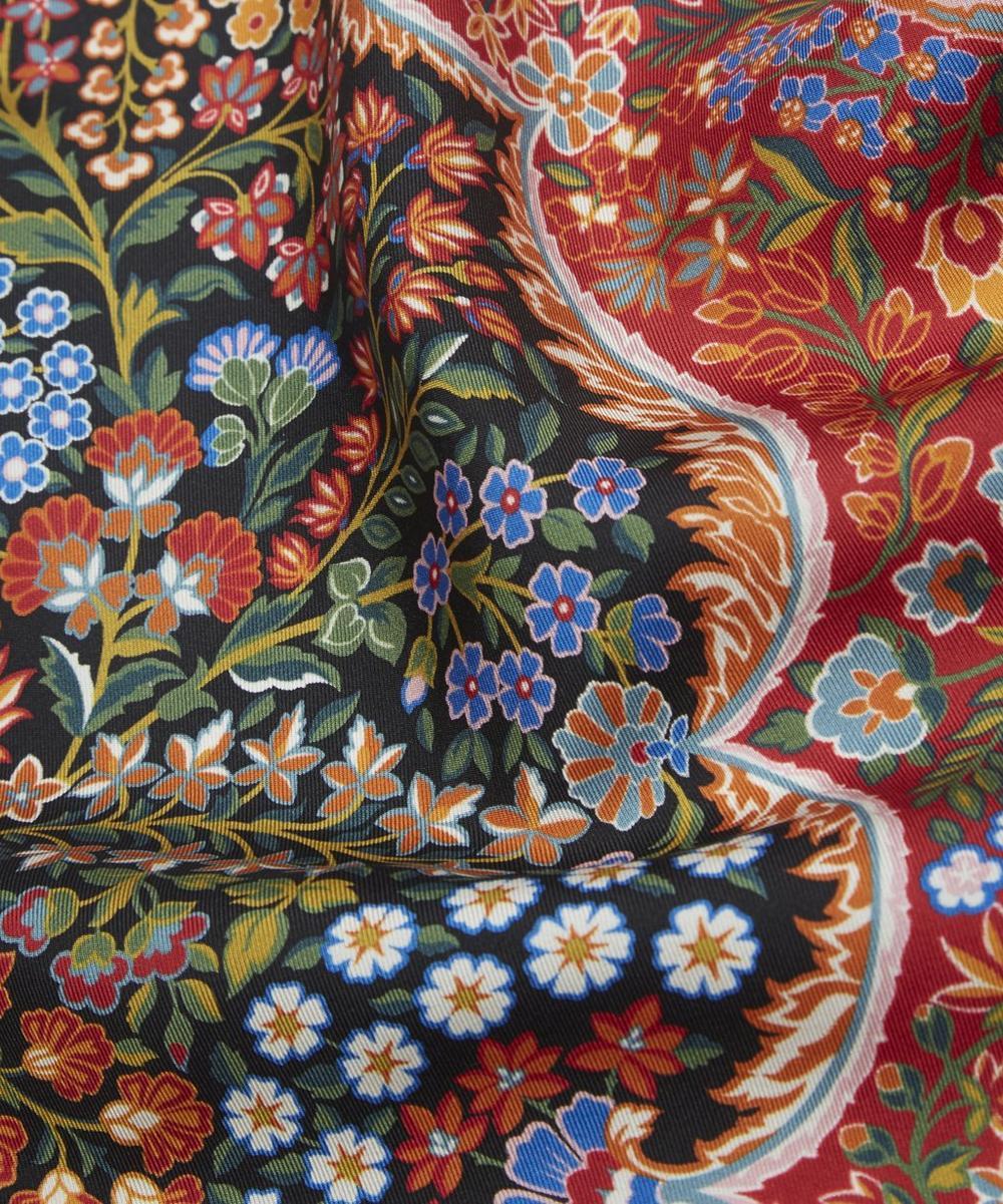 Tanjore Gardens 45 x 45cm Silk Twill Scarf