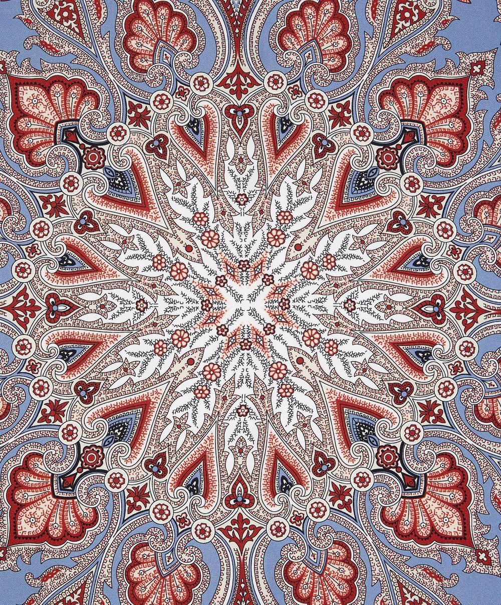 Overton Paisley 70 x 70cm Silk Scarf