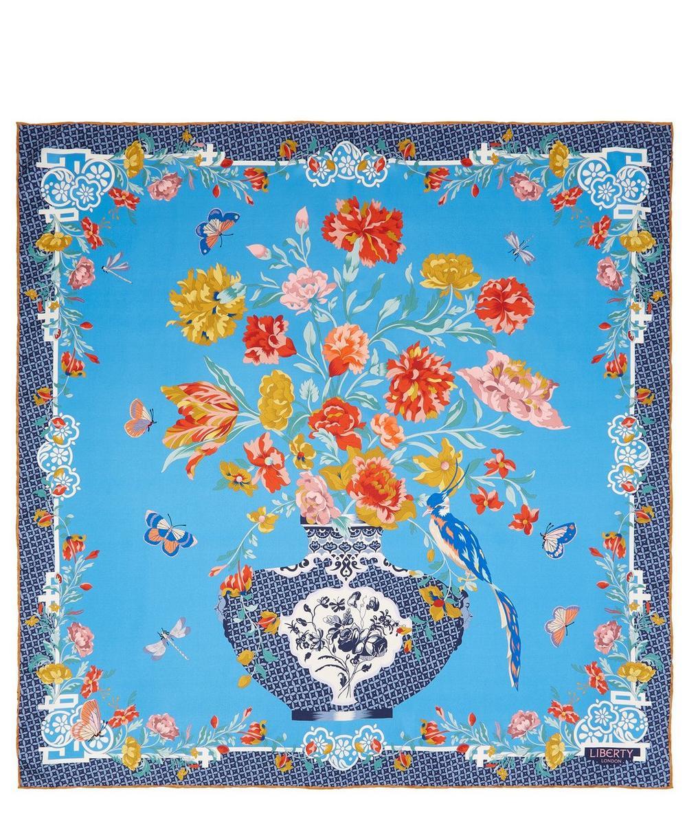 Patience 90 x 90cm Silk Twill Scarf