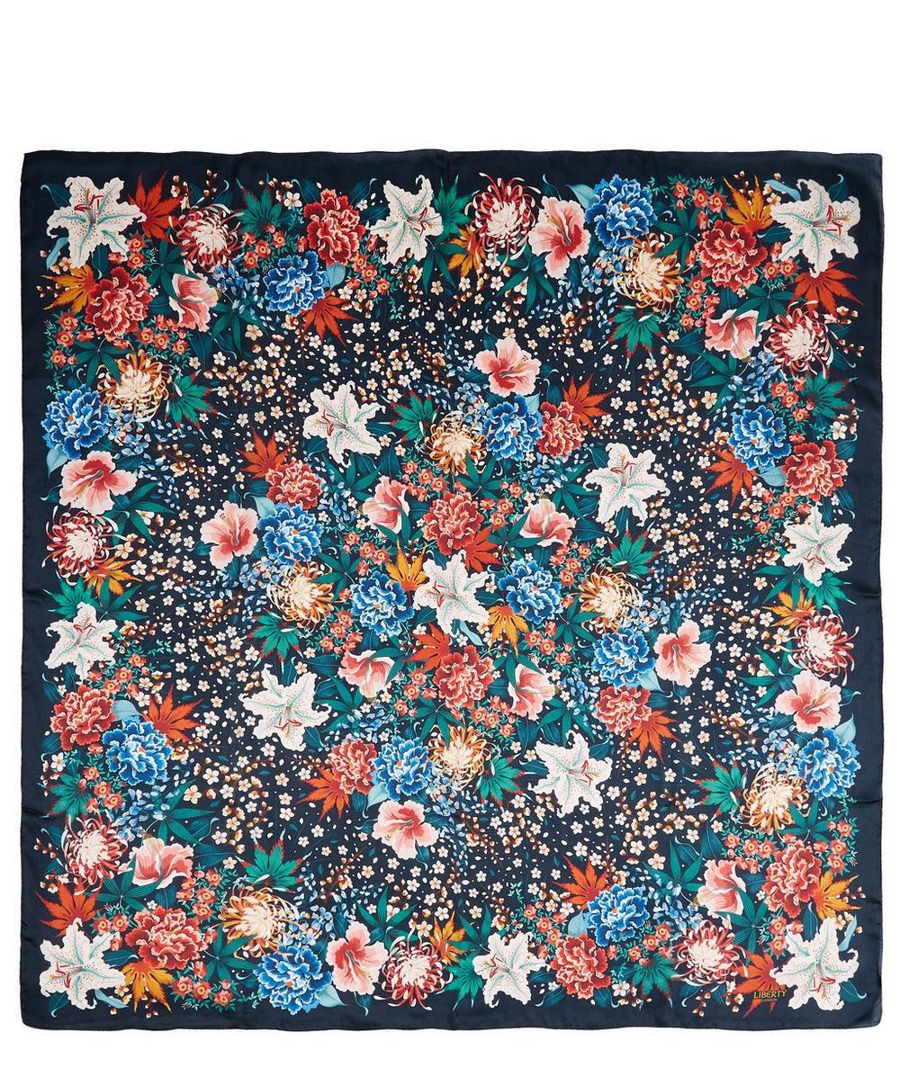 Haru 140 x 140cm Silk Molare Scarf