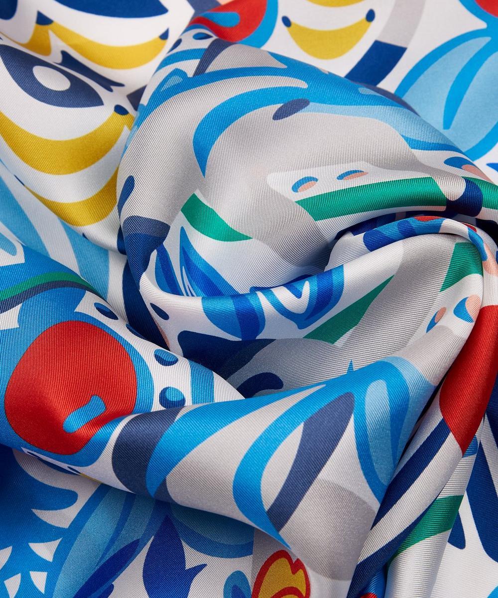 Arboreal 90 x 90cm Silk Twill Scarf