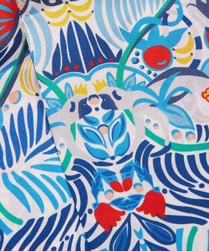 Arboreal 140 x 10cm Silk Twill Twilly Scarf