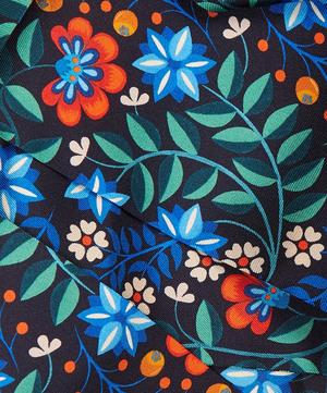 Kiya 140 x 10cm Silk Twill Twilly Scarf