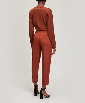 Tailored Cotton-Blend Trousers