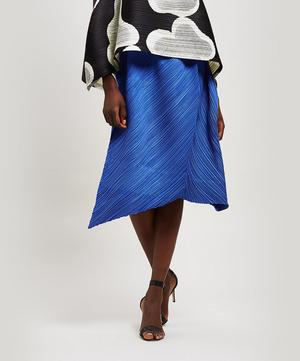 Triangle Cut Midi Skirt