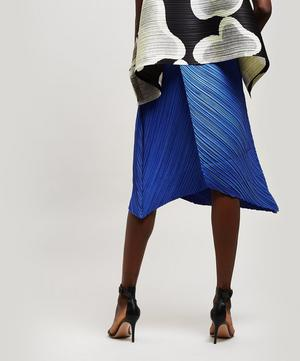 Triangle Cut Midi Skirt