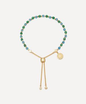 Gold Plated Vermeil Silver Astley Clarke x Theirworld Kula Gemstone Charity Bracelet