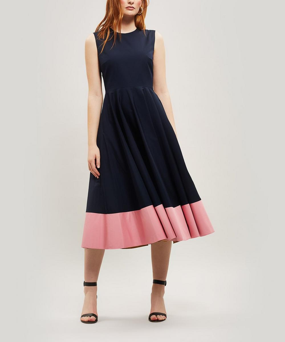 Athena Sleeveless Midi-Dress