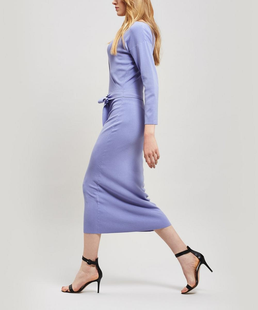 Betancor Drop Shoulder Midi-Dress