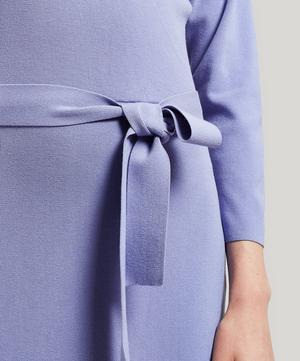 Betancor Drop Shoulder Midi-Dress