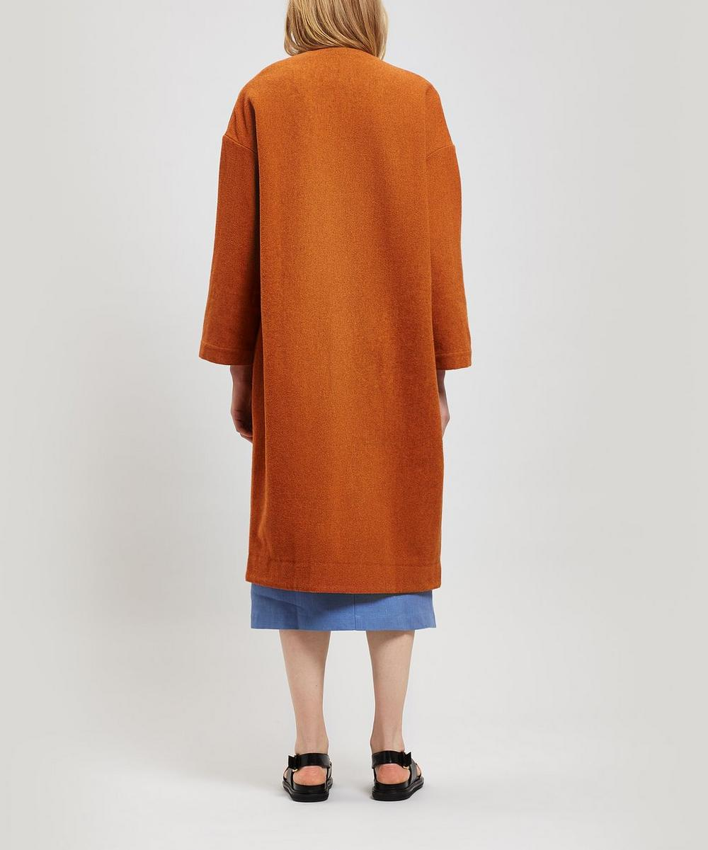 Julieta Oversized Wool-Blend Coat