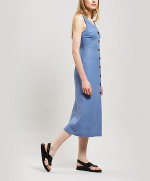Alberti Linen Midi-Dress