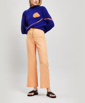 Adeline Linen Button Trousers