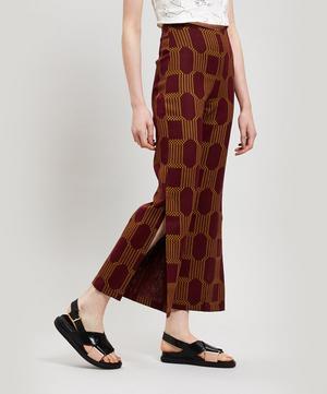 Sanjuan Geo Print Wide-Leg Trousers