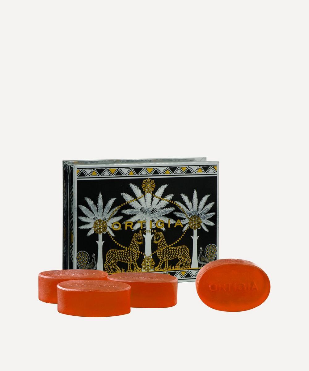 Ambra Nera Soap Set 4 x 100g