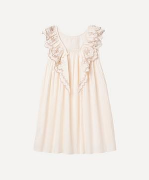The Blush Embroidered Wren Cotton Nightdress 2-8 Years
