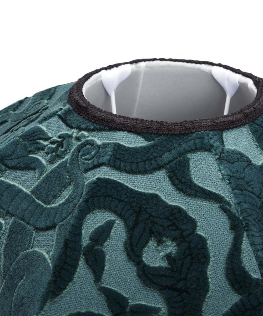 Anaconda Oriel Velvet Jacquard Lampshade