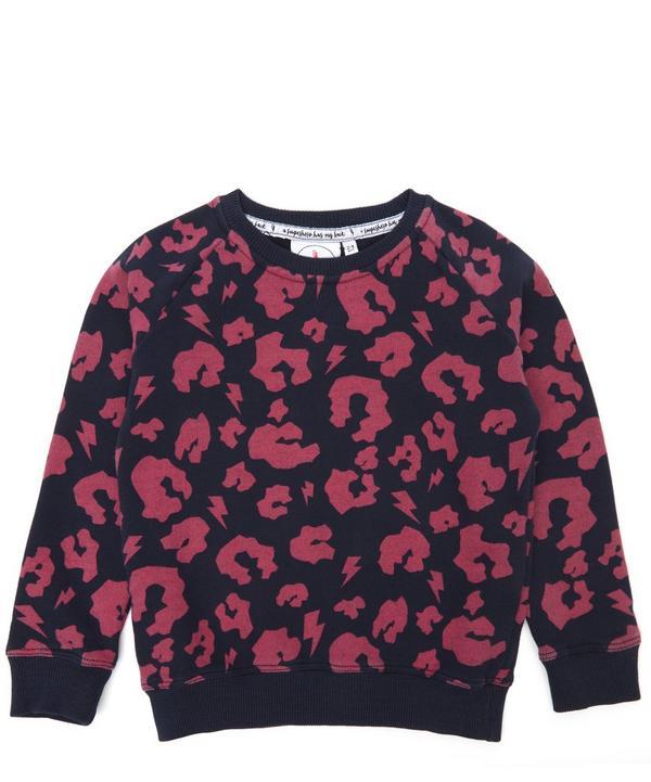 458d3616a84 Leopard Print Sweatshirt 1-6 Years ...