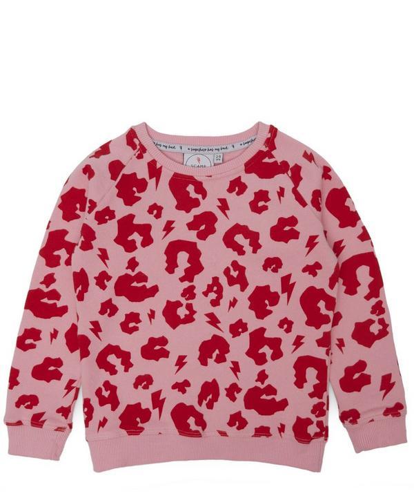 Leopard Print Sweatshirt 1-6 Years