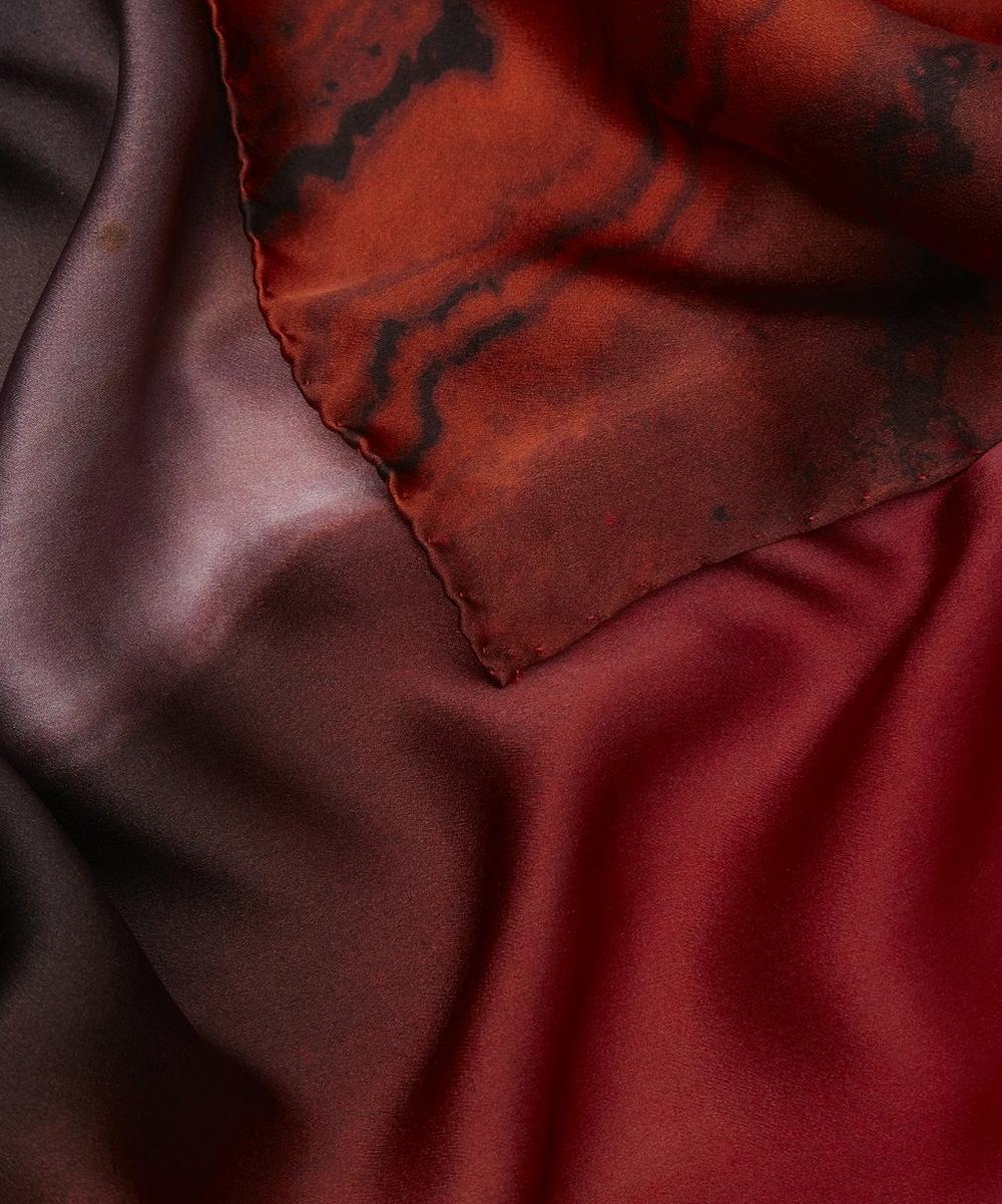 Agate Print Silk Scarf