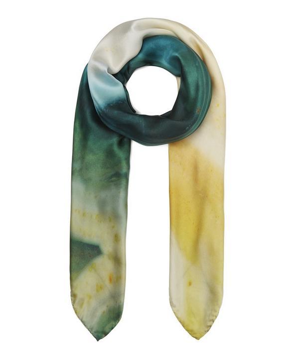 21bd9f499df Agate Print Silk Scarf ...