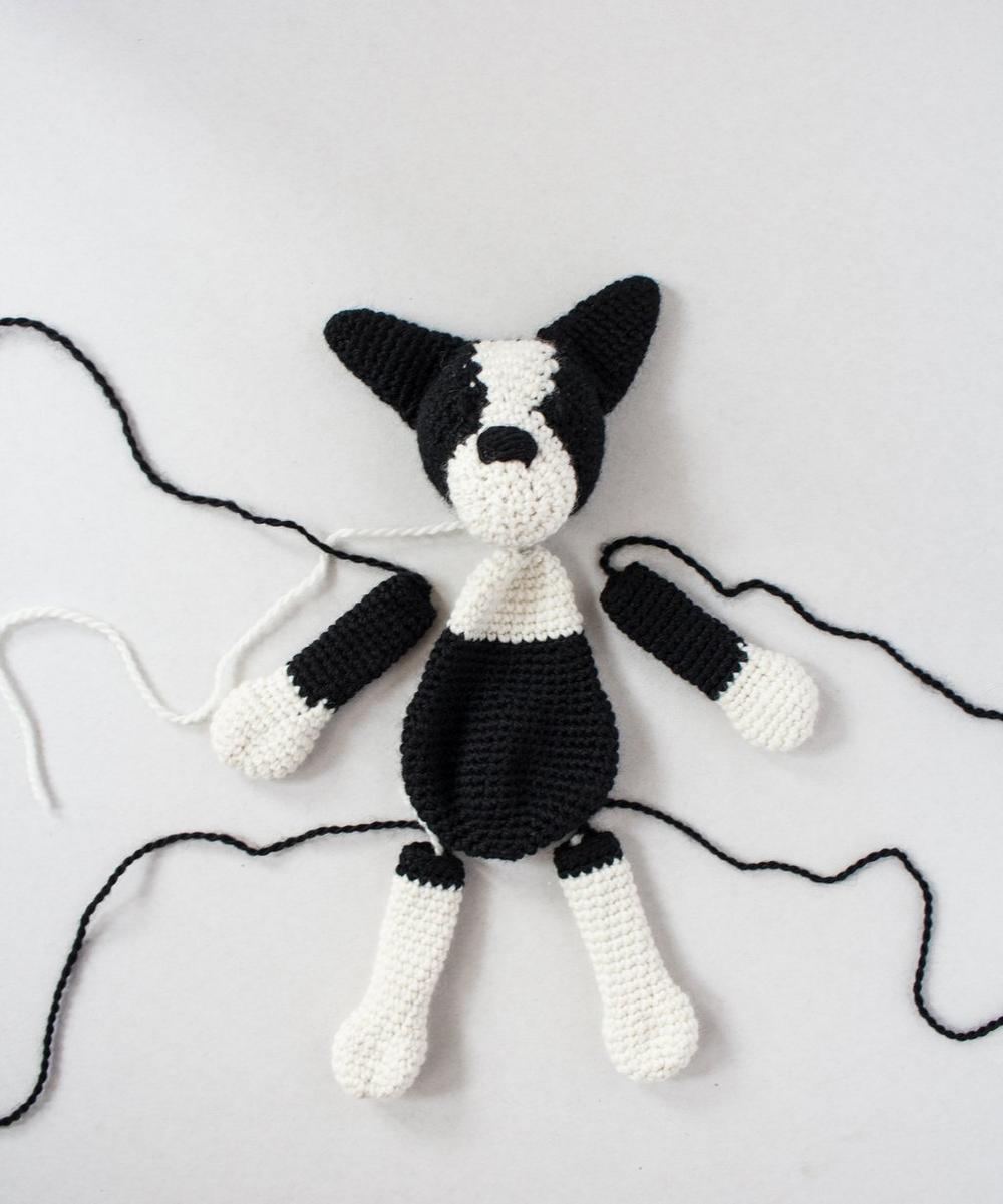 Barney The Boston Terrier Crochet Kit