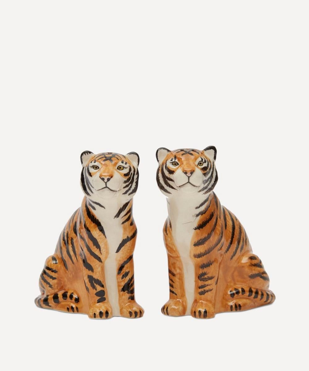Tiger Salt and Pepper Shakers