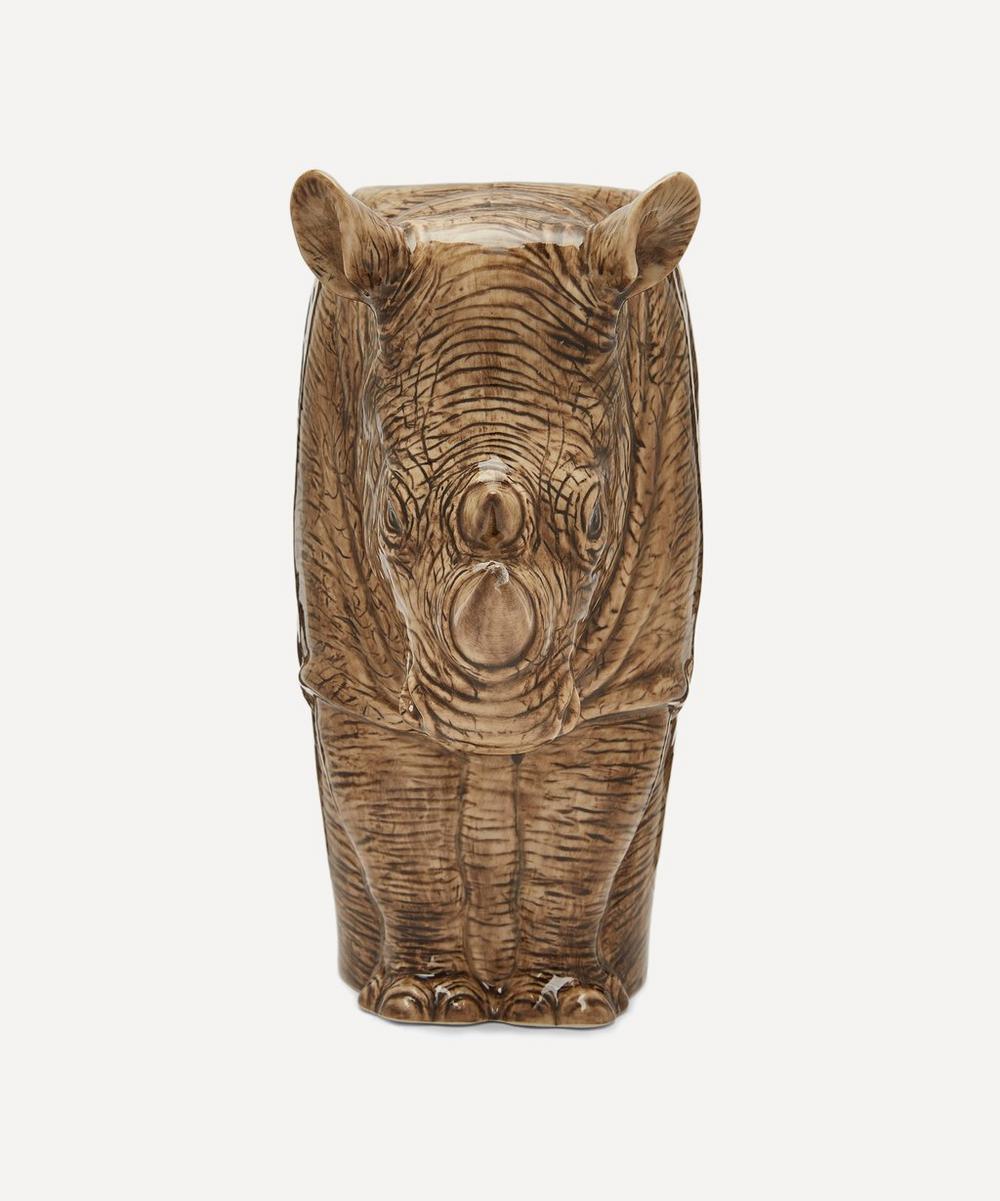 Rhinoceros Vase