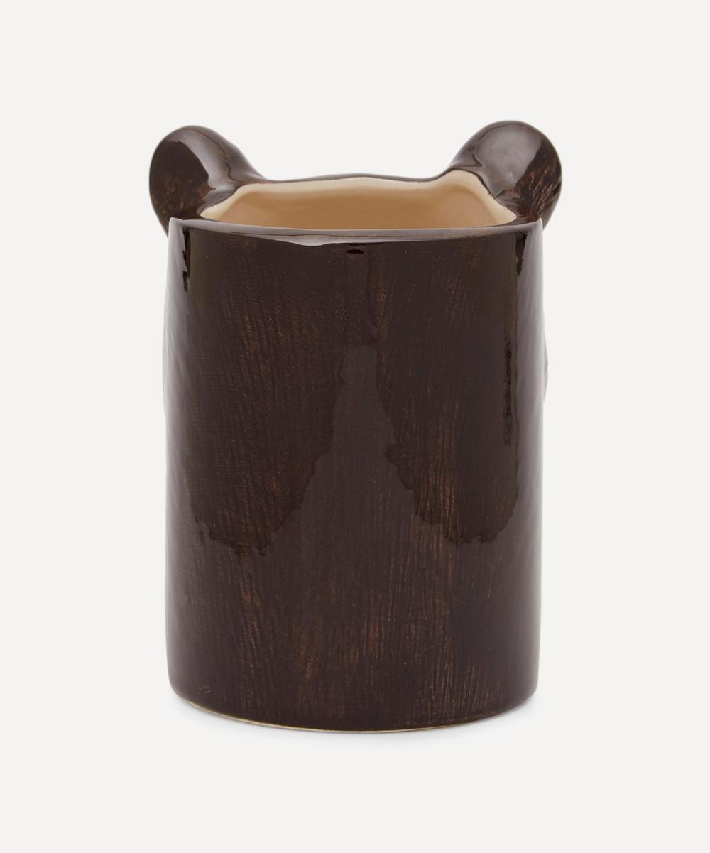 Black Bear Pencil Pot