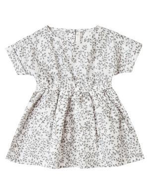 Dainty Leaves Kat Dress 2-8 Years
